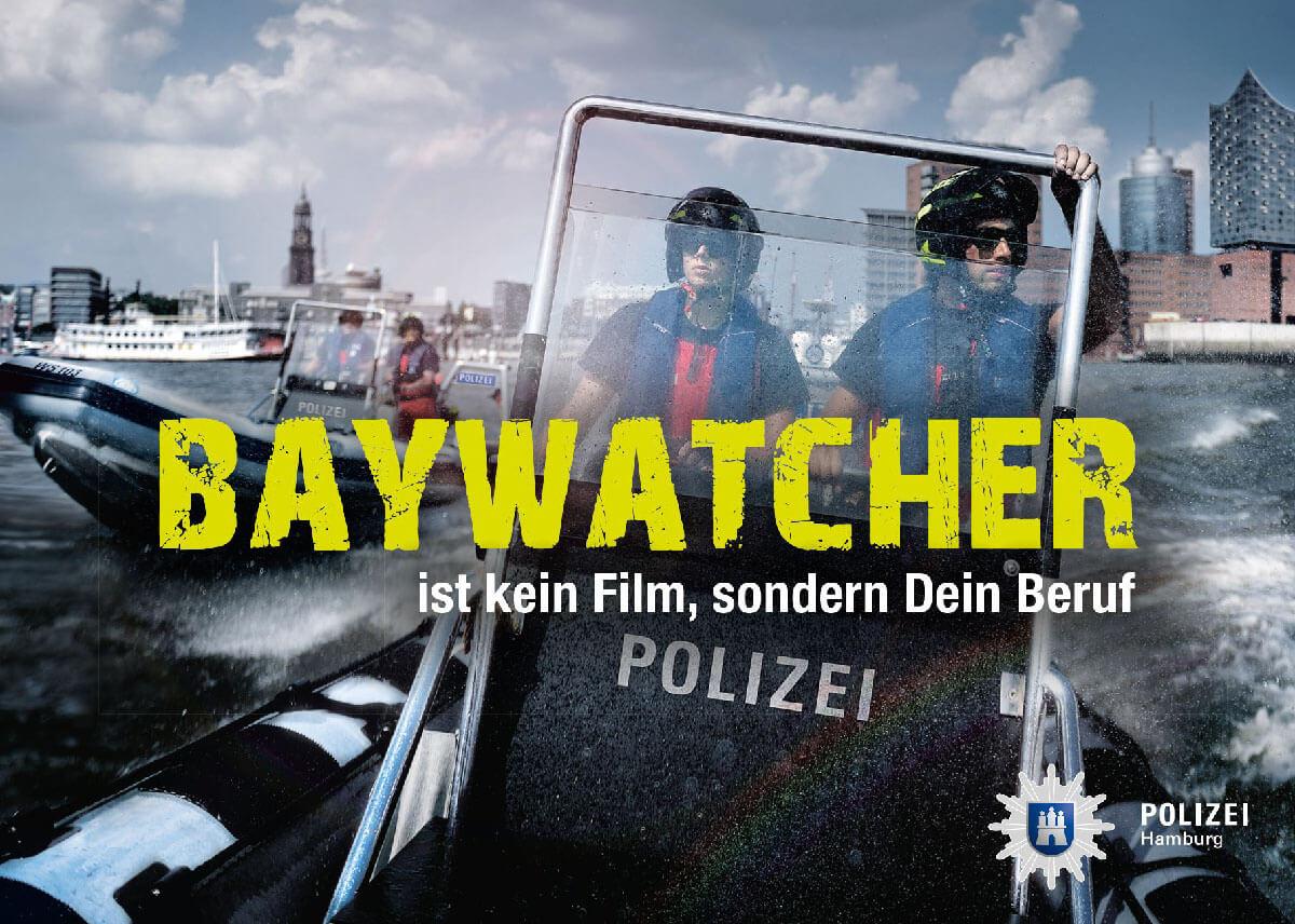 Baywatcher Polizei Hamburg