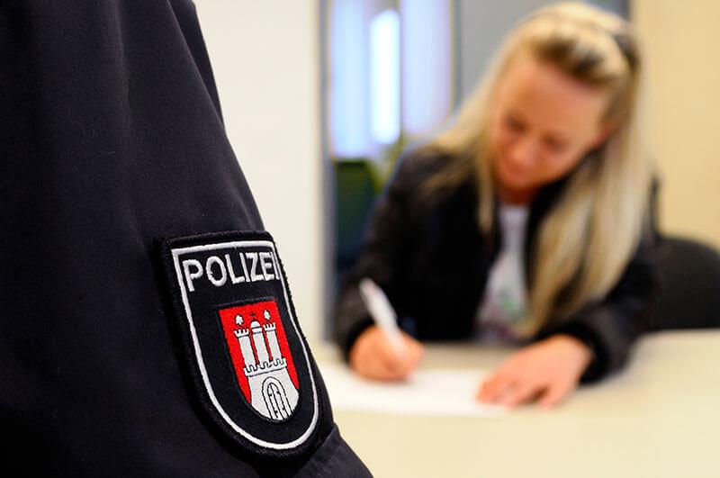 Polizeipraktikum Polizei Hamburg
